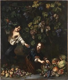Youths picking Fruit