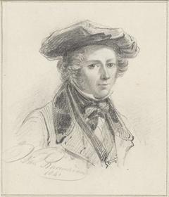 Zelfportret van Jan van Ravenswaay