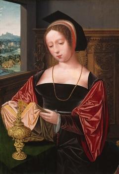 A Lady Reading (Saint Mary Magdalene)
