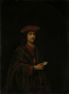 A Nobleman in red Costume