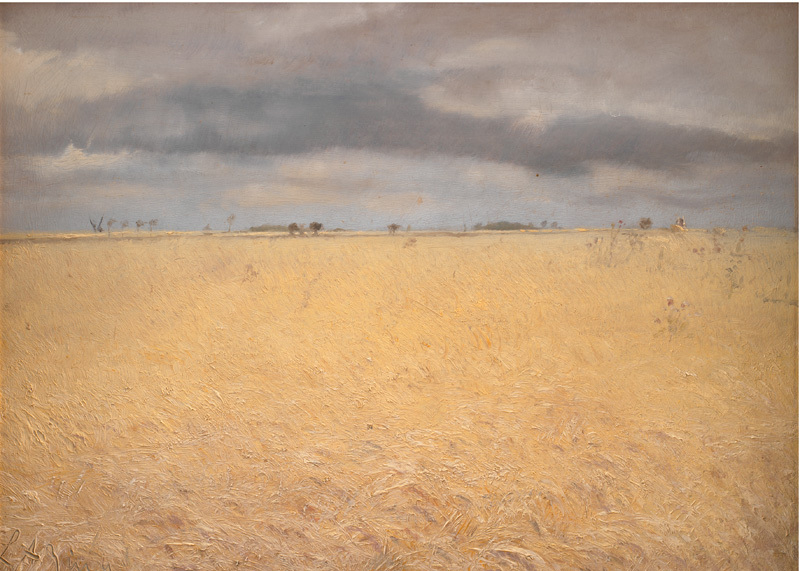 A Rye Field near Ring Village