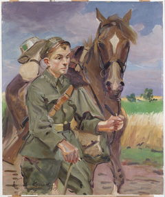 A Soldier with a Horse