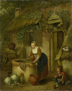 A Woman at a Well