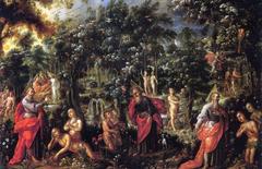 Adam and Eve in Paradise
