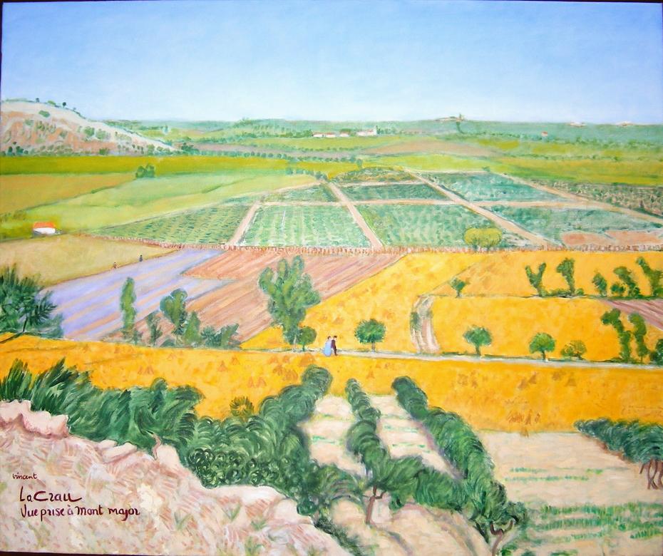 After Vincent 2. (2008), Oil on linen, 120 x 100 cm.