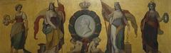 Allegorie der vier Stände und Huldigung an Großherzog Leopold von Baden