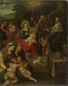 Allegory of the Christ Child as the Lamb of God