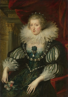 Anne of Austria (1601-1666). Wife of Louis XIII, king of France