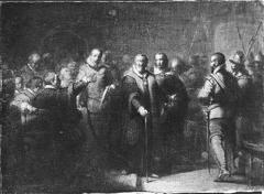 Anno 1619. Oldenbarnevelt voor het Hof van Holland