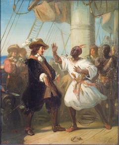 Anno 1664. Michiel de Ruyter meets his boyhood slave-friend Jan Kompany in Gorée (Dakar)
