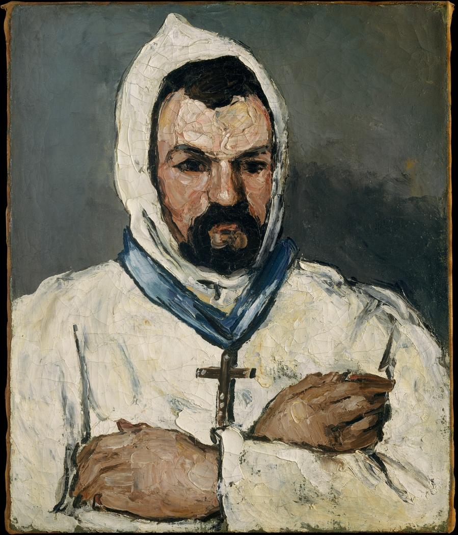Antoine Dominique Sauveur Aubert (born 1817), the Artist's Uncle, as a Monk
