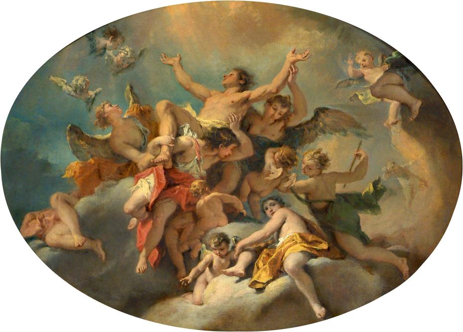 Apotheosis of Saint Sebastian