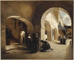 Ave Maria : interior of the  Aramont convent