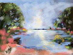 Azalea Lagoon at Airlie Gardens