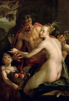 Bacchus, Ceres and Cupid (?)