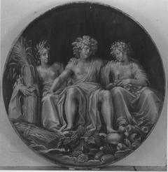 Bacchus, Ceres und Pomona (Werkstatt)