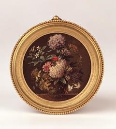 Bloemstilleven (miniatuurschilderij)