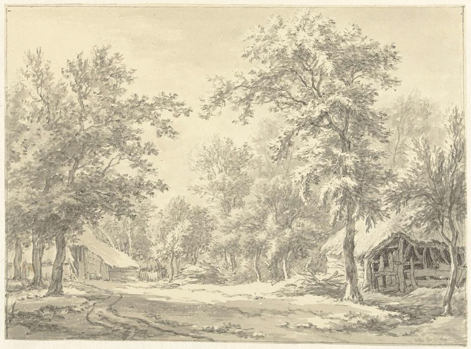 Boerderijen te Eext (Drenthe)