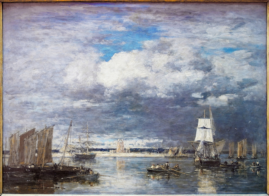 Camaret. The Harbor During a Thunderstorm