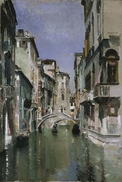 Canal in Venice, San Trovaso Quarter