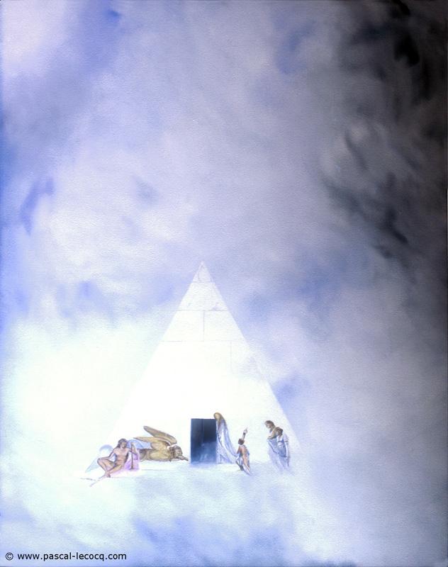 CANOVA- oil on canvas by Pascal
