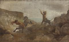 Centaurs Hunting Boars