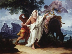 Chryses persuading Apollo to send the Plague upon the Greeks