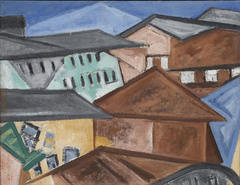 Cityscape. Roofs