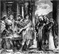 Constantine Burning the Memorials