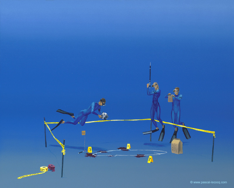 CRIME SCENE - by Pascal