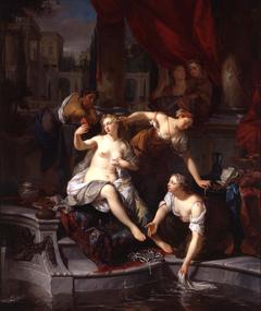 David spying on Bathsheba
