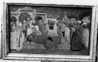 De begrafenis van de Heilige Benedictus