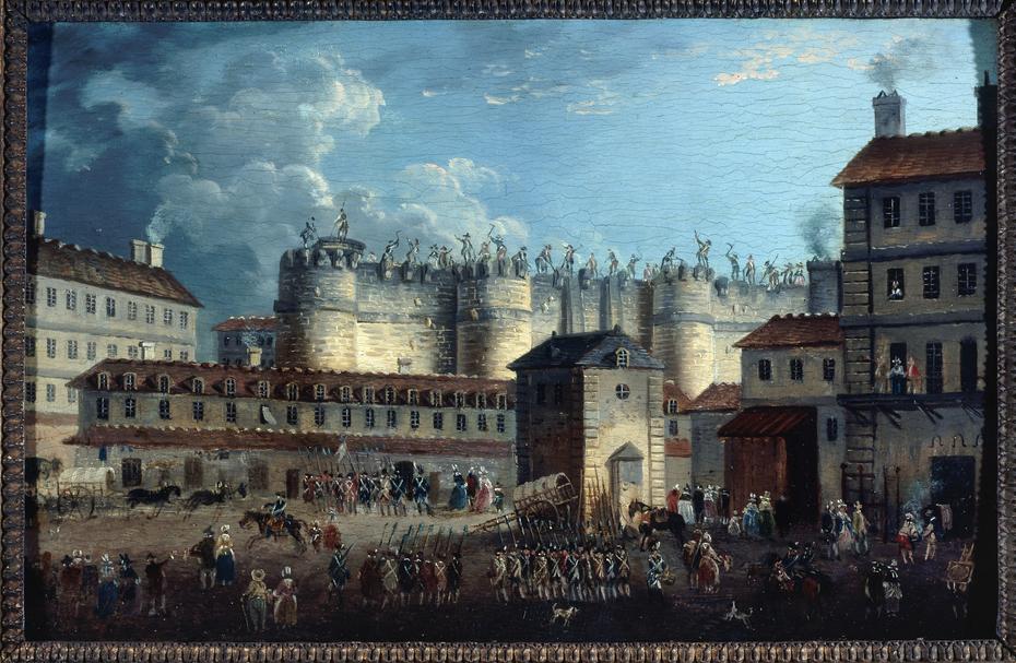 Démolition de la Bastille, le 17 juillet 1789