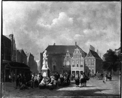 Der Marktplatz in Haarlem