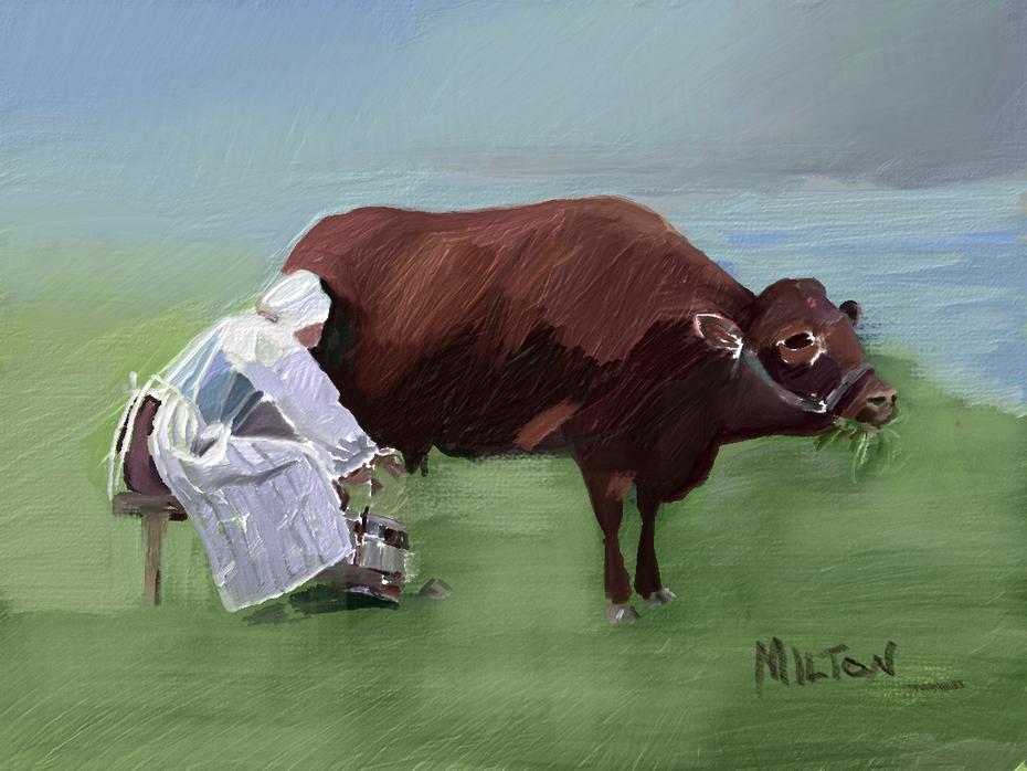 Devonshire Milkmaid