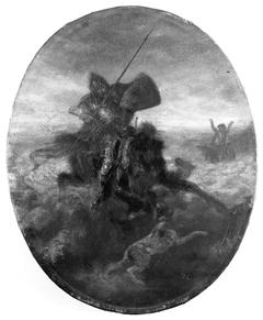 Don Quixote Charging the Sheep