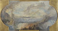 Esquisse pour la galerie nord du Petit Palais : La Révolution française (Plafond)