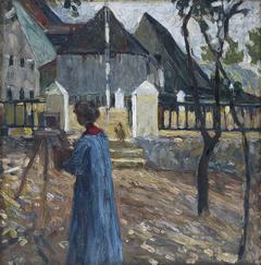 Gabriele Münter Painting