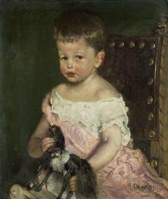 Hendrik Waller (1887-1951) op driejarige leeftijd