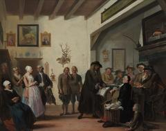 Het beslikte Zwaentje or the court house at Puyterveen