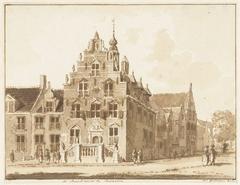 Het stadhuis van Buren