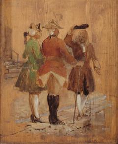 Holberg går af vejen for Jacob von Thyboe og Jean de France