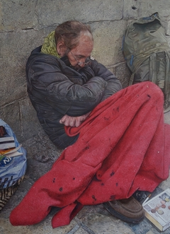 Homeless Man Carcassonne