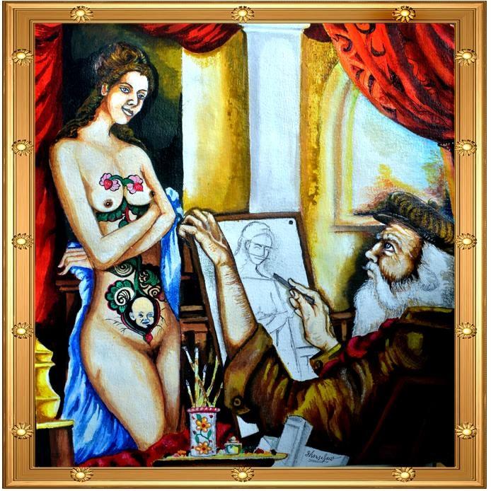 Imagination of an artist
