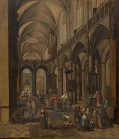 Interior of a Flemish Church