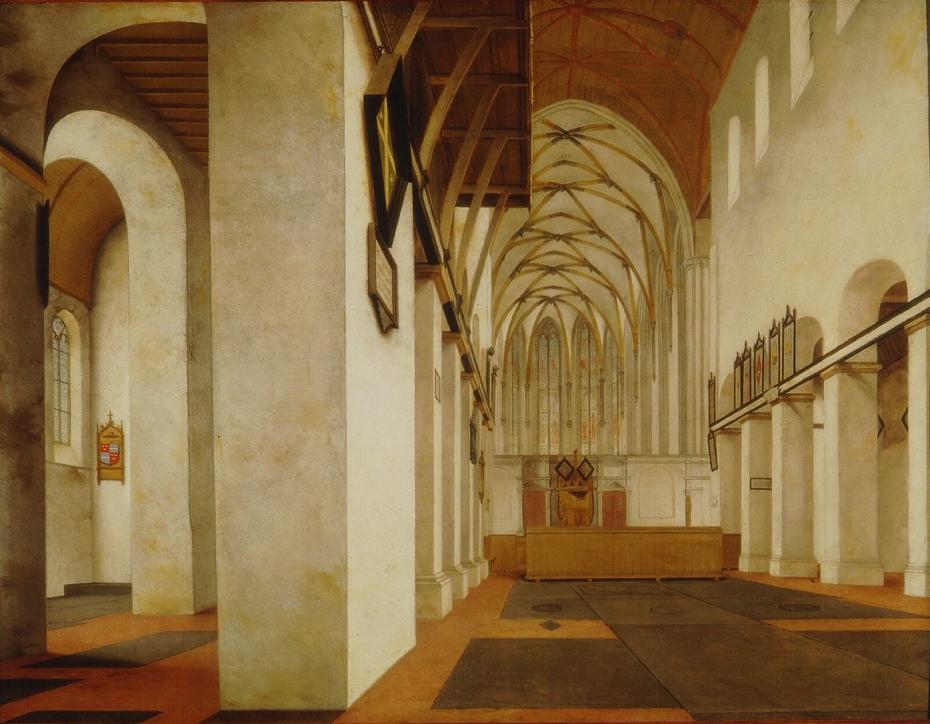 Interior of Saint John's Church, Utrecht