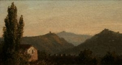 Italian Landscape (formerly The Catskills from Saugerties)