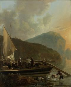 Italianate River Landscape