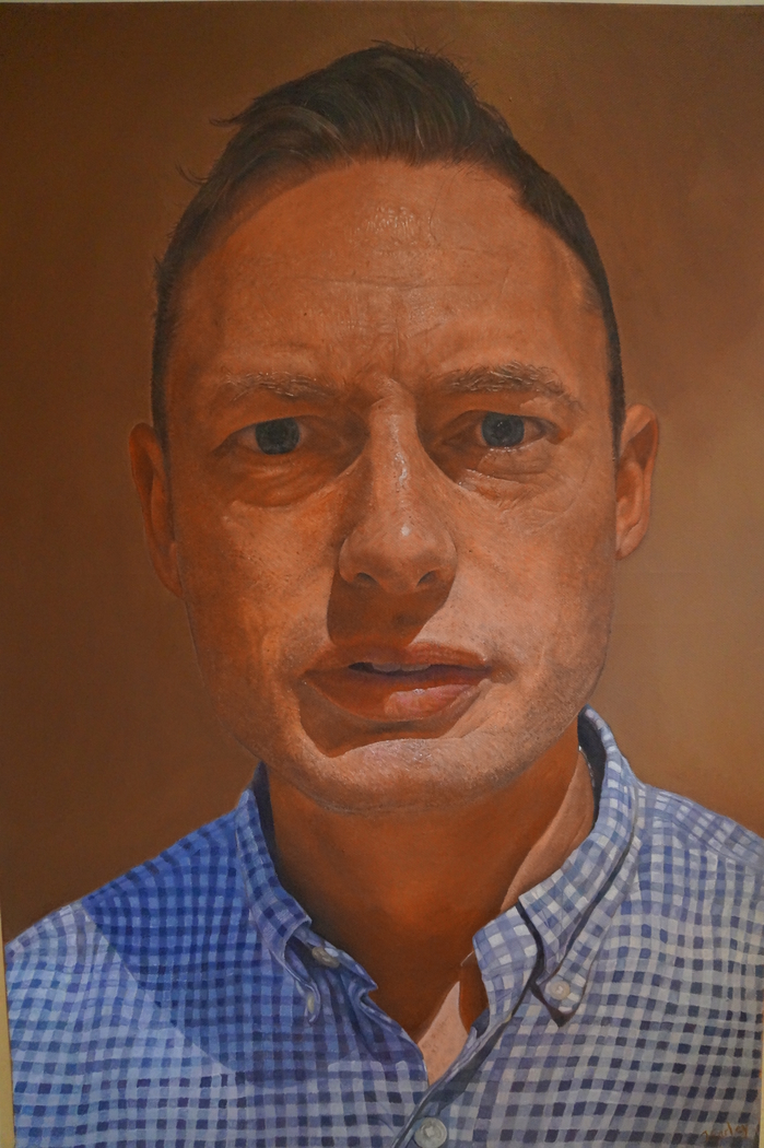 james earley self portrait