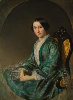 Jeanette Bloemen (1829-1915), echtgenote van de Amsterdamse makelaar Hendrik Luden (1822-1895)